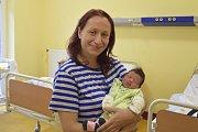 Jana Vacková a Jan Zamrazil z Benešova jsou od 21. července rodiči malé Charlotte Zamrazilové. Ta se narodila v8.45 s2540 gramy a 45 centimetry. Doma se na ni těší její bratr Lukášek (9).