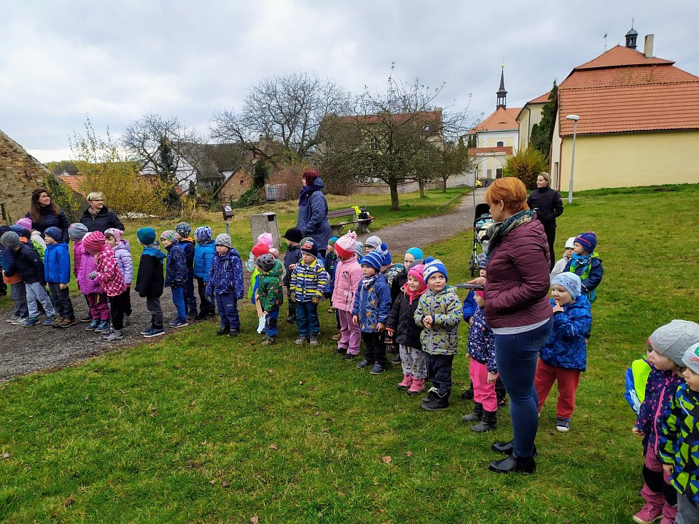 Svatomartinský týden v Mateřské škole v Divišově.