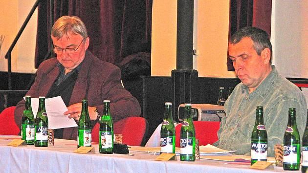 Zdeněk Zahradníček a Karel Navrátil získali v Benešově největší podporu voličů.