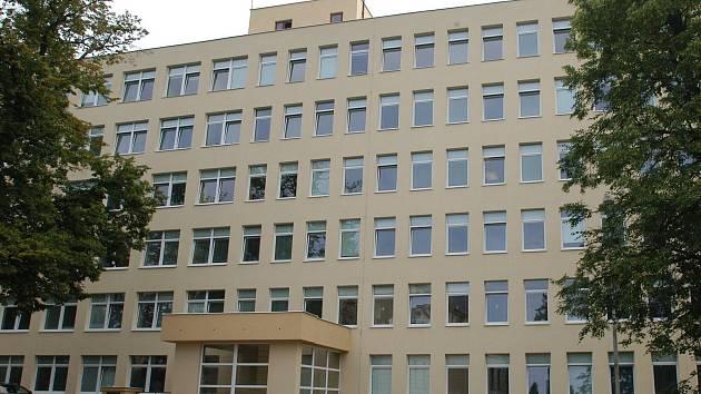 Pavilon interny v benešovské nemocnici. Archivní foto.