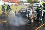 Dobrovolní hasiči z Čechtic slavili spolu se svými příznivci.
