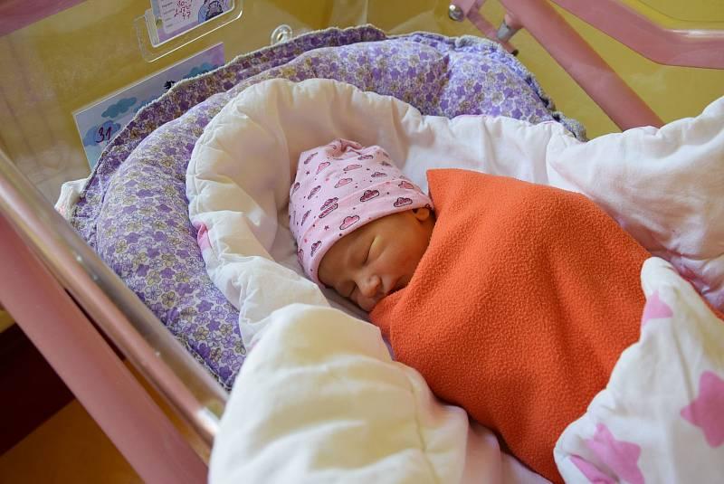 Rozálie Růžičková se manželům Natálii a Karlovi narodila v benešovské nemocnici 10. září 2021 20.29 hodin, vážila 2550 gramů. Rodina bydlí v Říčanech.