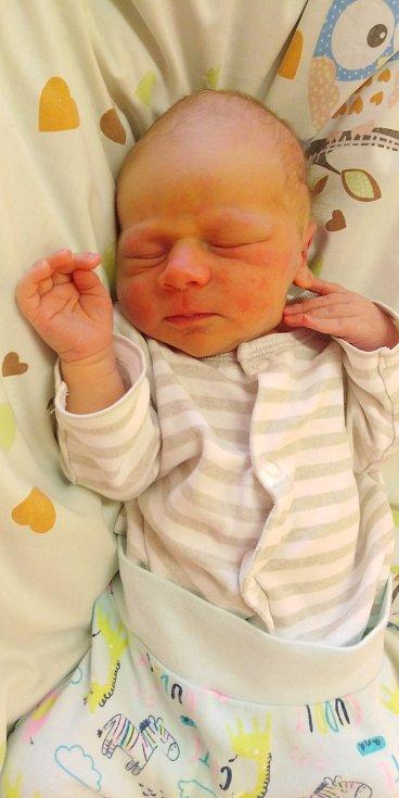 Vojtíšek Mercel přišel na svět 14. února 2021 v 6. 45 hodin v čáslavské porodnici. Vážil 3580 gramů a měřil 51 centimetrů. Doma v Mladoticích ho přivítali maminka Barbora a tatínek David.