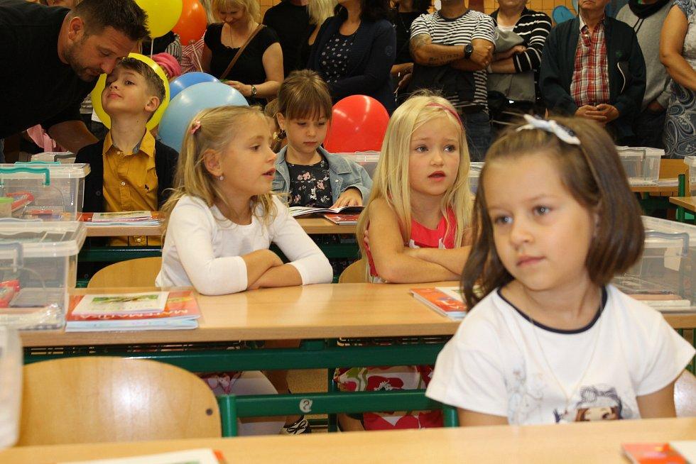 Ze zahájení školního roku 2019/2020 v Základní škole ve Voticích.