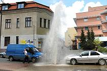 V Benešově je zapotřebí opravit kilometry vodovodního i kanalizačního potrubí.