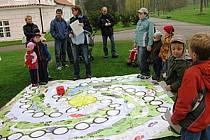 EKOKLUB Breberky připravil na Den Země ekostezku pro děti s hravými a tvořivími stanovišti jako minulý rok.