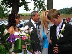 Na Jemništi si v sobotu 29. srpna řekli ano Anita a Tomáš