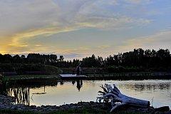 Vodní dům v Hulicích ožil ve večerních hodinách díky Muzejní noci.