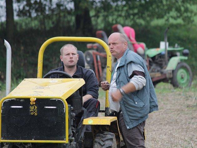 Třetí sedlecko-prčická traktoriáda.