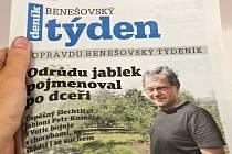 Titulní strana dvacátého pátého čísla týdeníku Benešovský týden.