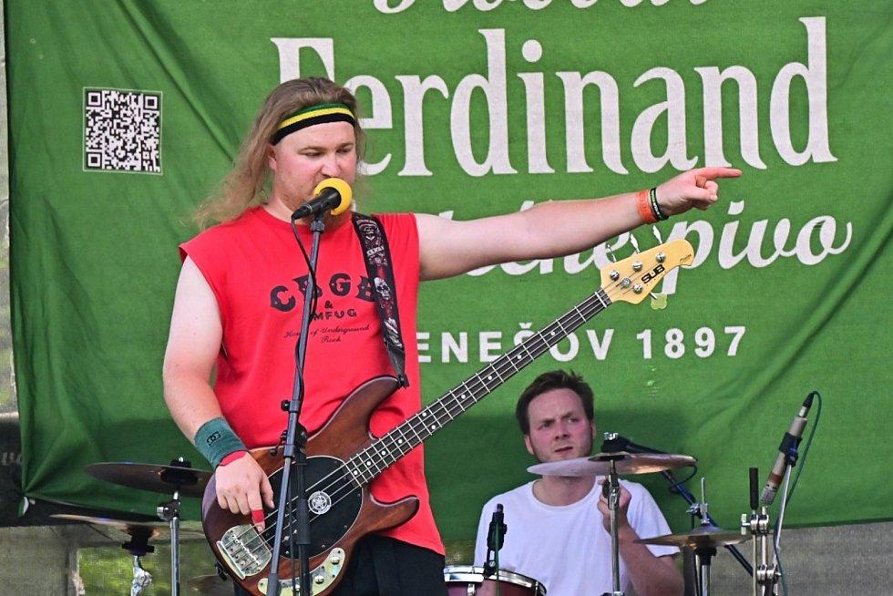 Z hudebního festivalu Konopišťský evergreen.