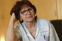Marie Křížová, staniční sestra v Rehabilitačním ústavu v Kladrubech.