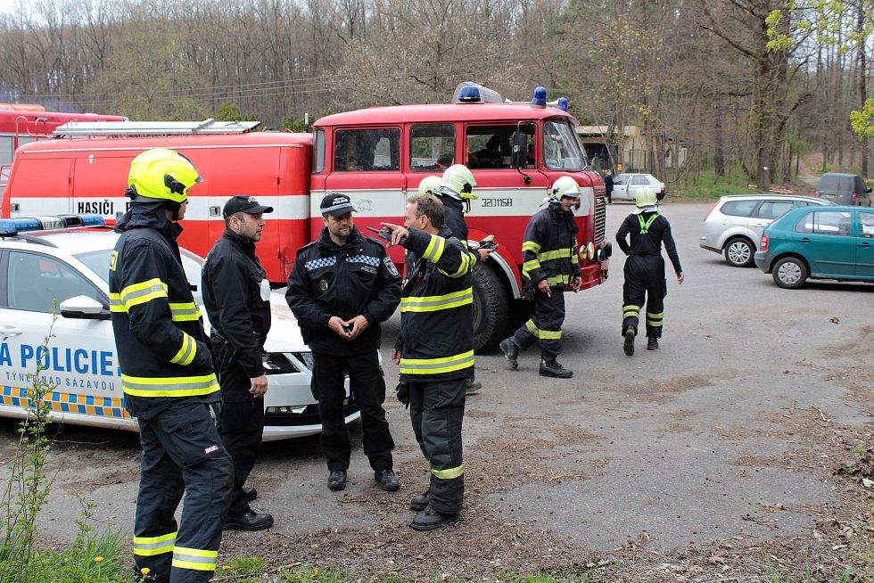 Ze zásahu hasičů v Peceradech.