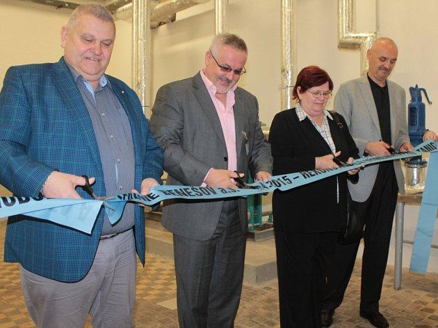 Slavnostní zahájení provozu zrekonstruovaných výměníkových stanic v Nemocnici Benešov.