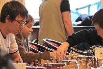 Okresní přebor v šachu žáků.