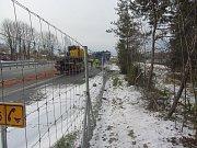 Nehoda dodávky a kamionu na 50. km D1 směr Praha, k níž došlo v neděli 10. prosince.