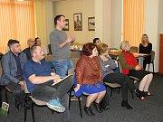 Delegace z Gruzie přijela do Týnce nad Sázavou načerpat nové zkušenosti.