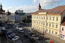 Prostor mezi Malým a Masarykovým náměstím.