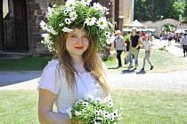 Zahrady sázavského kláštera byly plné květin