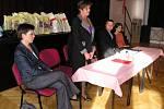 Oceňování dobrovolných dárců krve v sále Na Poště.