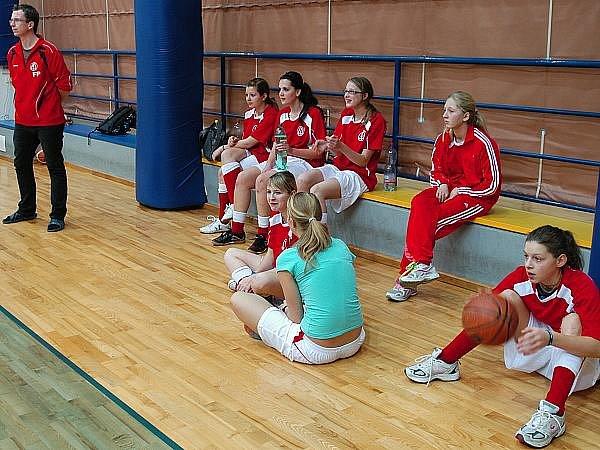 Basketbalový turnaj žaček ZŠ Benešovska v tělocvičně Dukelská.