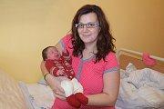 Malá Terezka Šrámková se narodila 13. září v 11.25 manželům Michaele a Jiřímu Šrámkovým z Vranova. Při narození v benešovské porodnici vážila 3338 gramů a měřila 48 centimetrů.