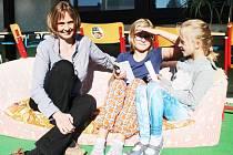 Z návštěvy Církevní základní a mateřské školy Archa v Petroupimi na Benešovsku, kde je ředitelkou Jitka Hřebecká.