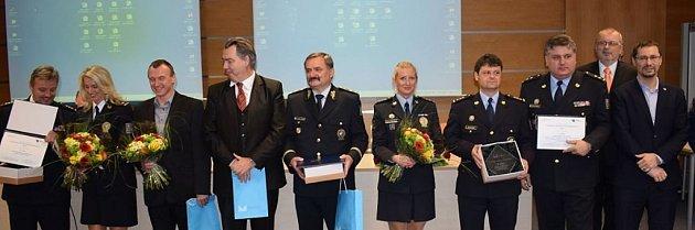 Předávání ocenění vítězům národního kola Evropské ceny prevence kriminality 2018.