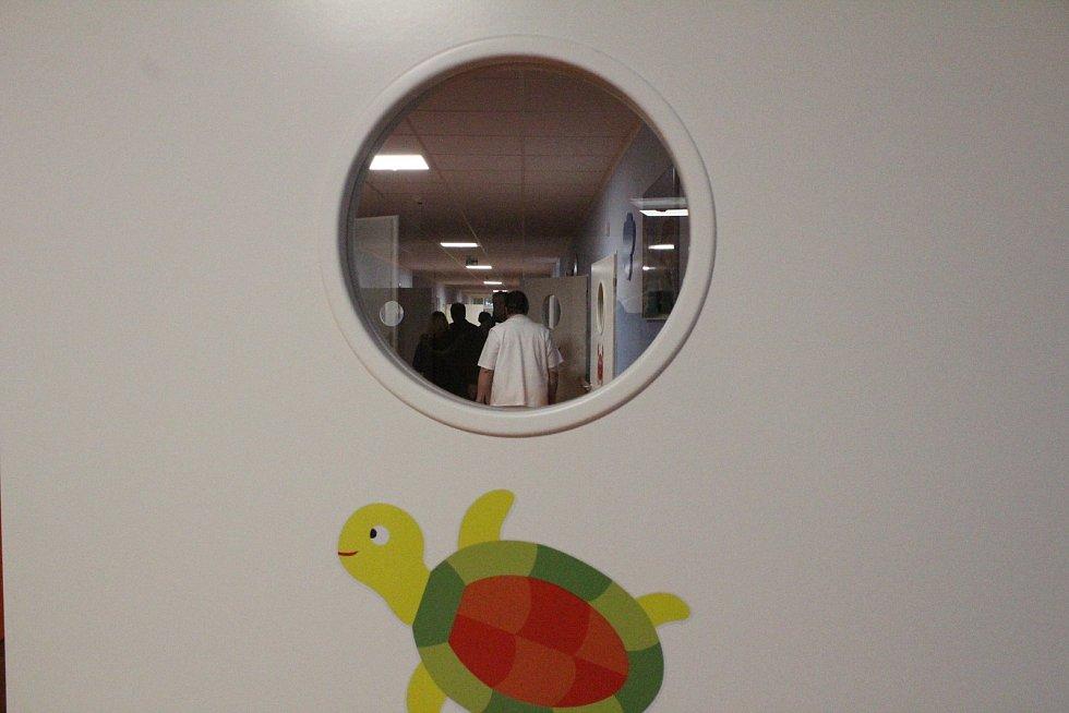 Oficiální otevření nového dětského oddělení v Nemocnici Rudolfa a Stefanie Benešov.