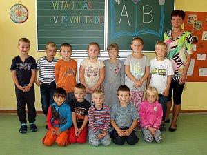 ZŠ Krhanice a třídní učitelka Jana Vilémová