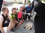 Blanickým cyklorytířem se mohl stát každý účastník závodu.