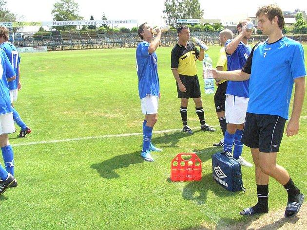Přípravný fotbalový zápas Benešov - Sparta B