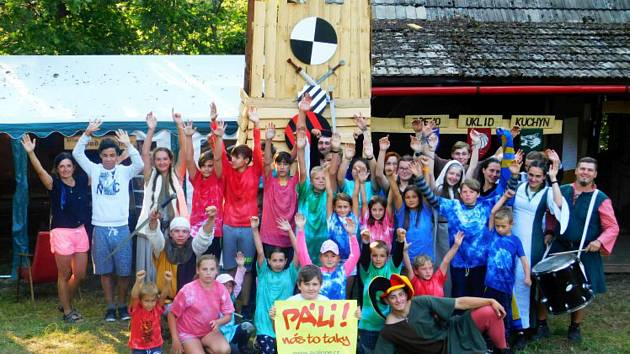 Každoroční rodinný tábor pro děti nejen z votického okolí.