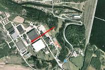 Výrobna síranu hlinitého a dusičnanu vápenatého je umístěná v areálu úpravny vody Želivka v katastru Hulic.
