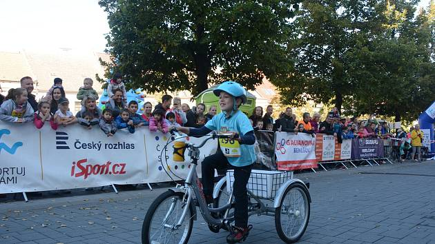 Bedříšek Svoboda při Benešovském běžeckém festivalu.