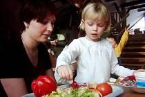 Děti z Breberek si dokáží připravit i zdravou svačinku
