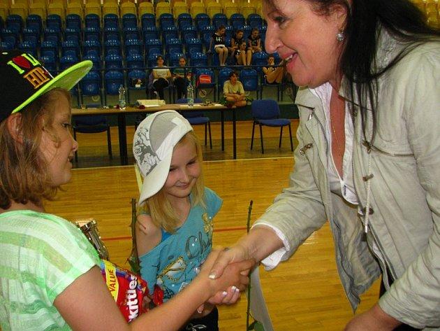 Děti ze ZŠ Dukla předvedly svůj talent.