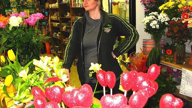 Význání k Valentýnu lze vyjádřit květinou, srdíčkem i vzkazem v Benešovském deníku a na jeho internetových stránkách.