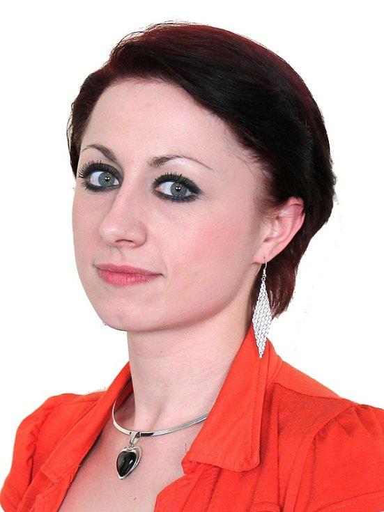 Účastnice castingu Monika Topolová z SDH Mokrá Lhota.