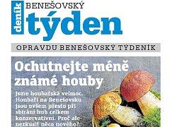 Aktuální vydání Benešovského týdeníku.