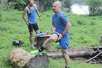 Vytrvalostní běžecký závod Hvězdonice - Ondřejov aneb z Meridy na Žalov se běžel již pošestnácté.