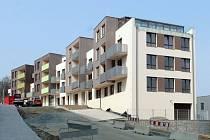 Nové byty čas od času v Benešově vznikají. Třeba jako v tomto domě v ulici K Pazderně.