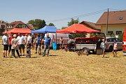 Z oslav 95. výročí založení Sboru dobrovolných hasičů v Krusičanech.