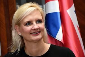 Petra Pecková (STAN), hejtmanka Středočeského kraje.