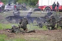 Tankový den v Lešanech ilustrační foto