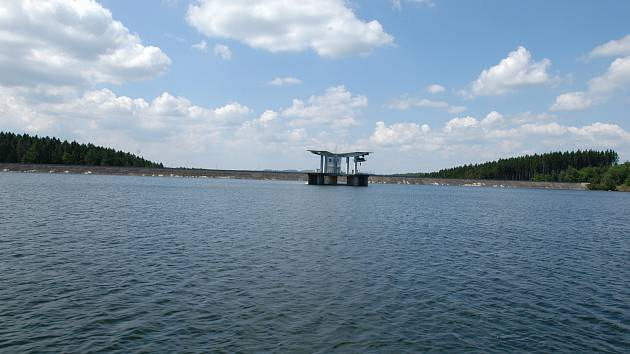 Vodí dílo Švihov a Úpravna vody Želivka.