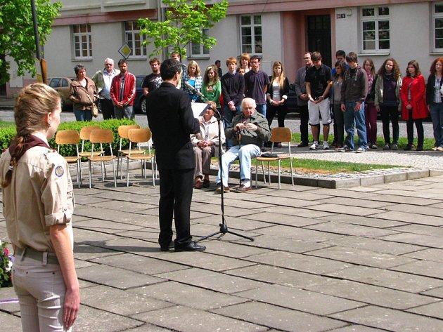 Benešovští občané uctili oběti 2. světové války.