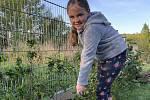 Marie Urbanová ze Základní školy Jiráskova Benešov oslavuje 1. máj prací.