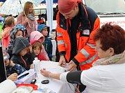 Sázavský Den zdraví navštívily hlavně děti