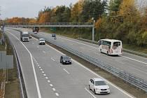 Dálnice D1 mezi Všechromy (exit 15) a Modleticemi (exit 10) bude v noci z 29. a 30. října zcela uzavřená.